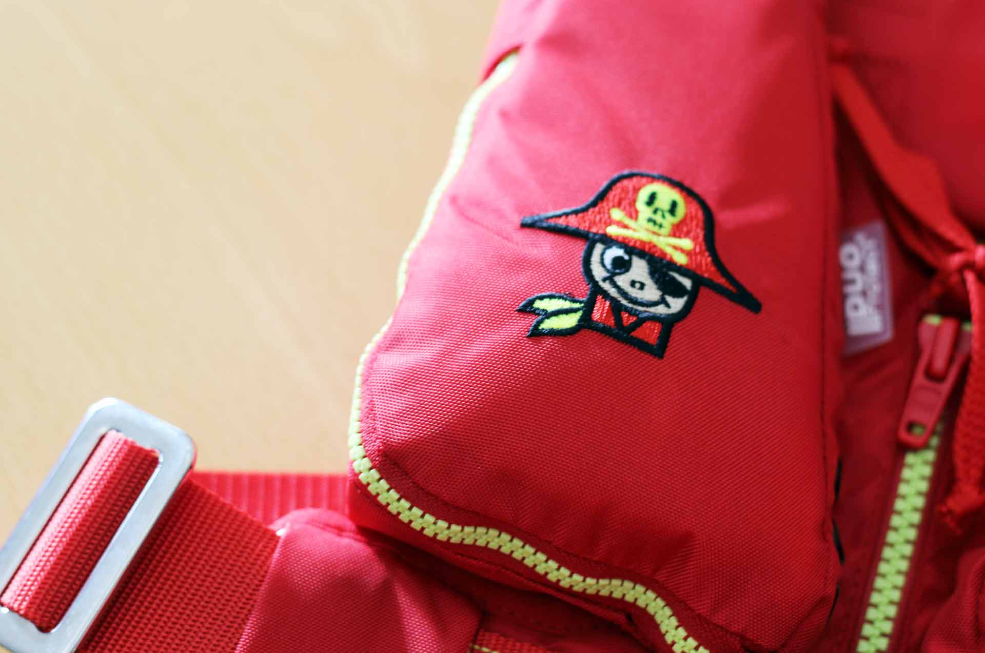 Exclusively for little Pirates: The MINI life jacket by SECUMAR
