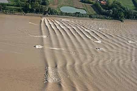 Garonne : naufrage d'un bateau victime du mascaret.
